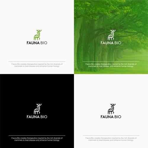Bold Logo Concept for Fauna Bio
