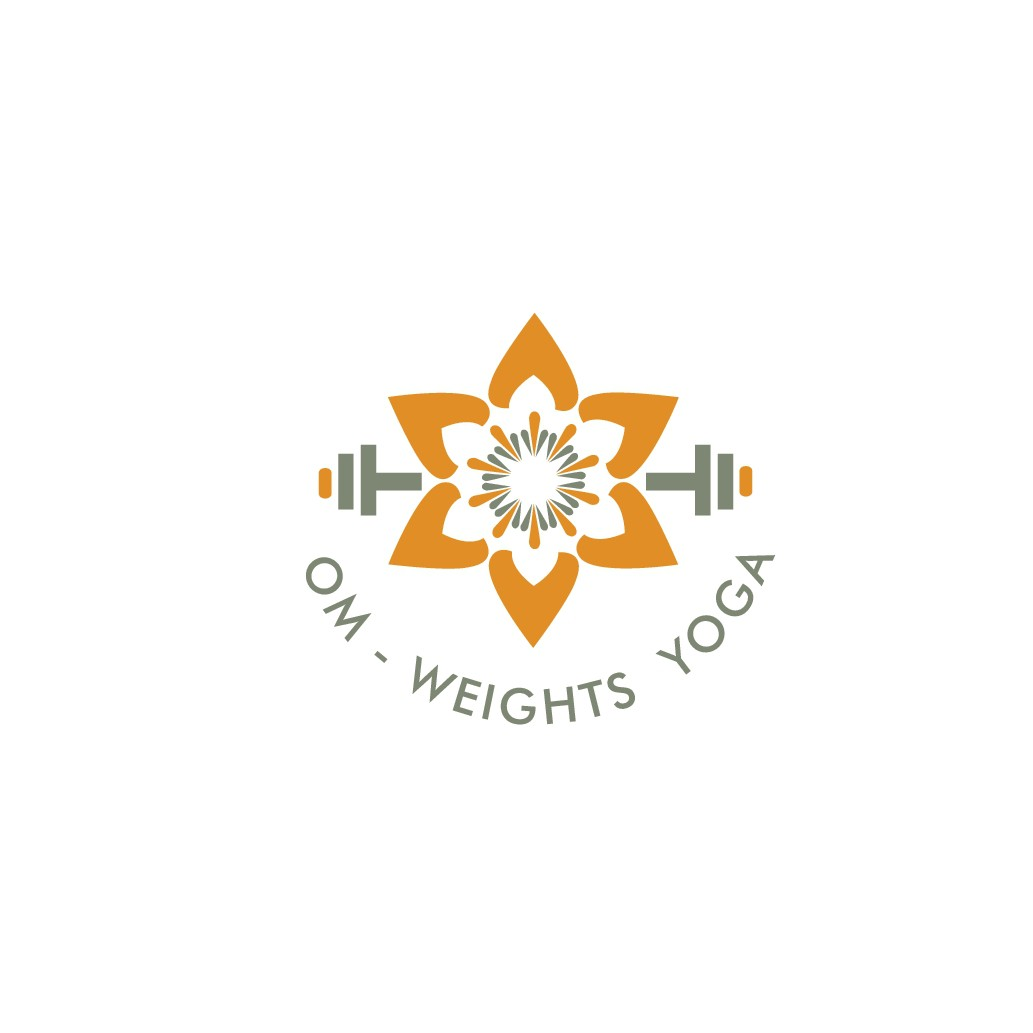 Design a sophisticated, cool, youthful logo for exciting new brand combining yoga and weight-training
