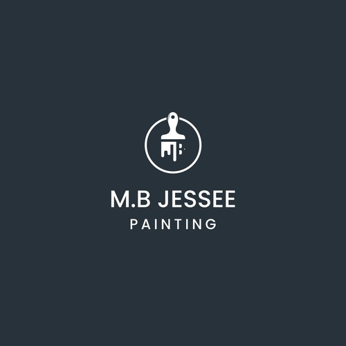 Geometric logo for Commercial Painting Company Needs Powerful New Look.