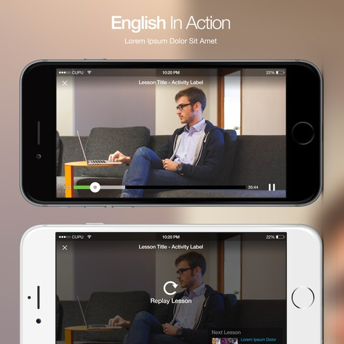 English in Action Design Concept