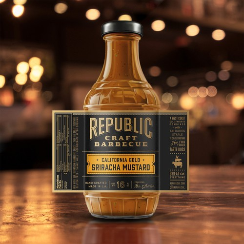 Republic Craft BBQ Sauce