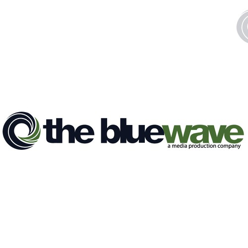 Logo Design for The Blue Wave Production Company