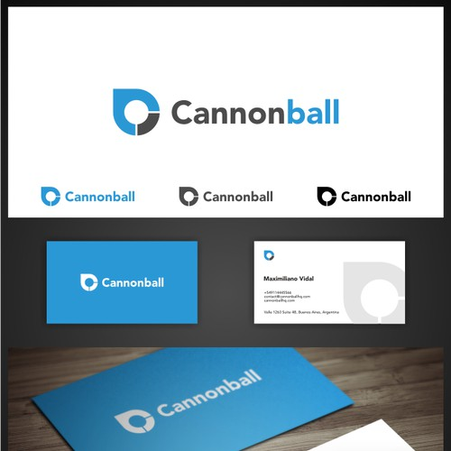 Cannonball needs a new logo and business card
