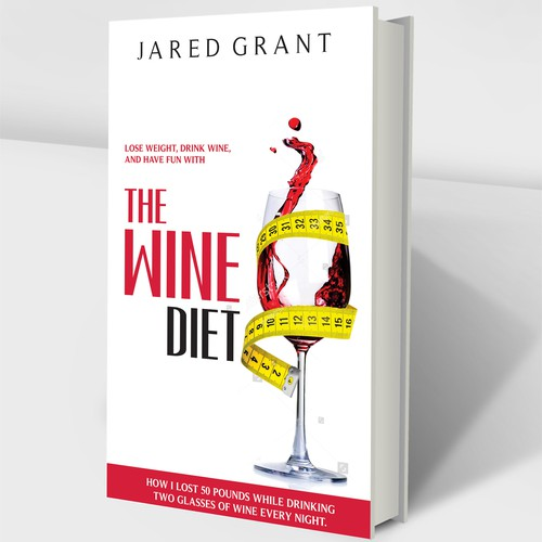 Book Cover for a Wine Diet
