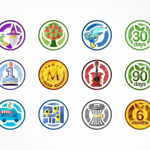 MintScraps Badges Design