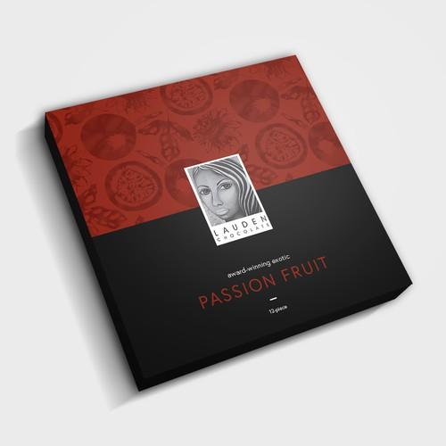 Lauden Chocolates - Chocolate Box Design Concept
