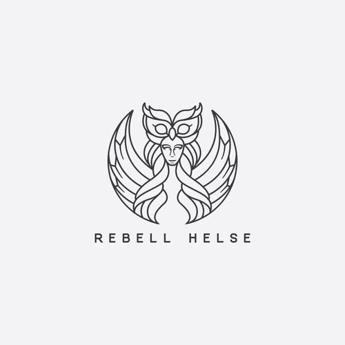 Athena goddess of wisdom for Rebell Helse