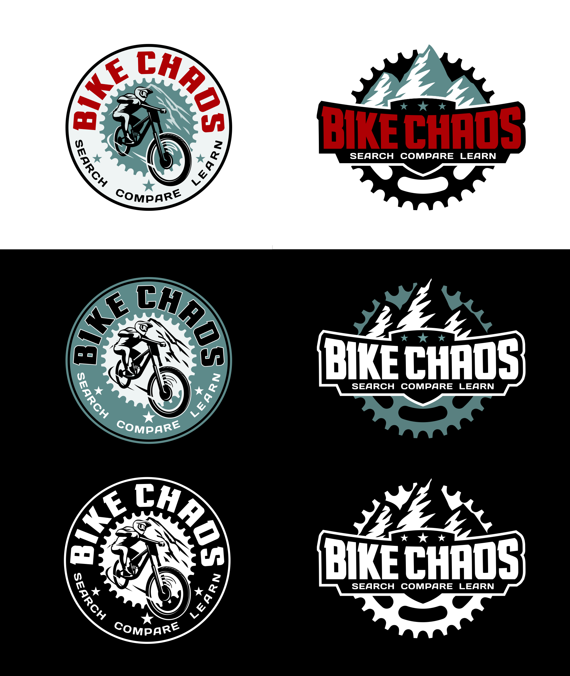 Mountain Bike search website needs a awesome new logo!