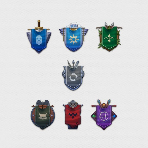 Conquest Game Badges