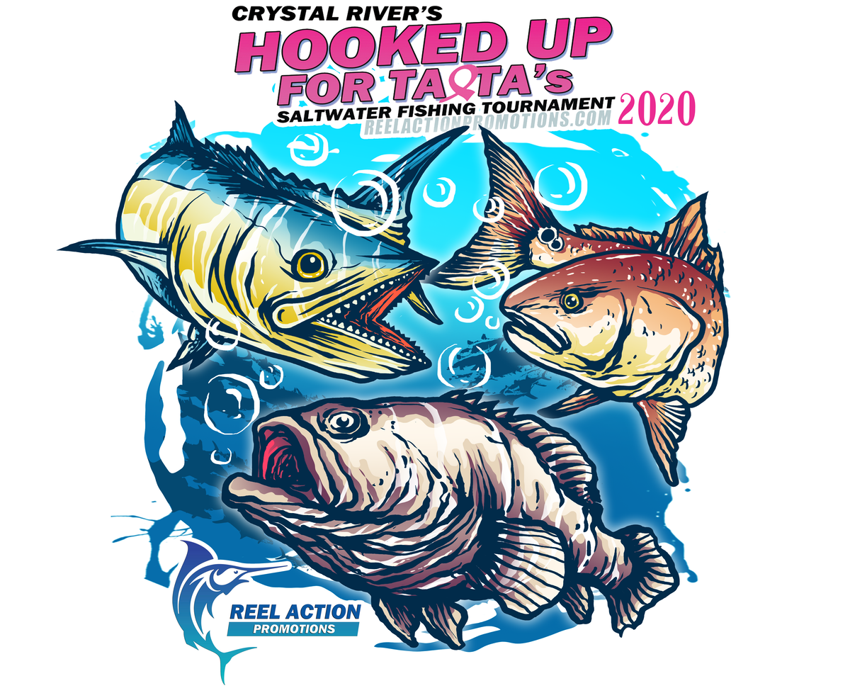 Fishing tournament shirt