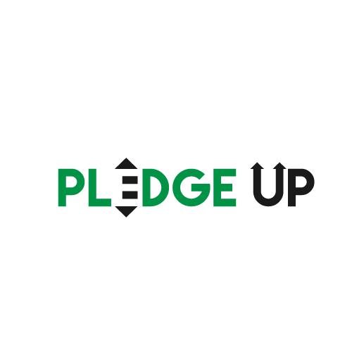 Logo pledge up