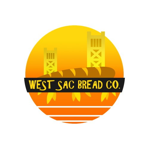 West Sac Bread Co. (First 99design!)