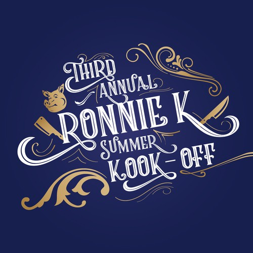 Logo for annual summer kook-off