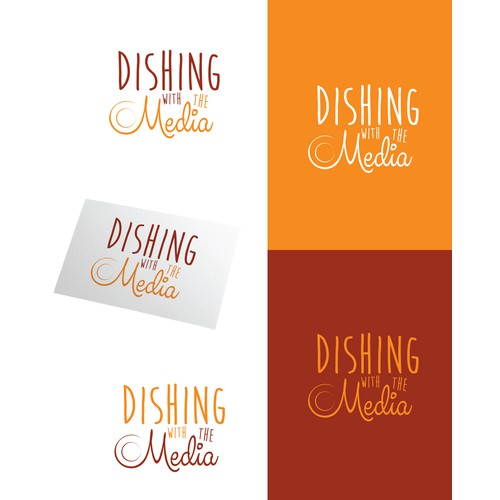 Create a fun & elegant logo for a new company that creates culinaryevents connecting brands & reporters.