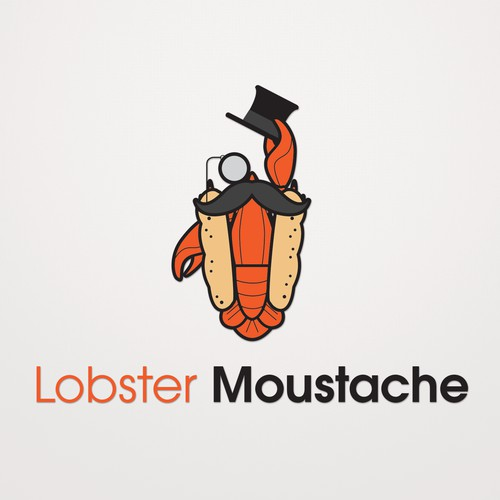 Logo concept for lobster roll restaurant.