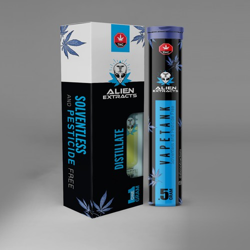 Alien extract Packaging
