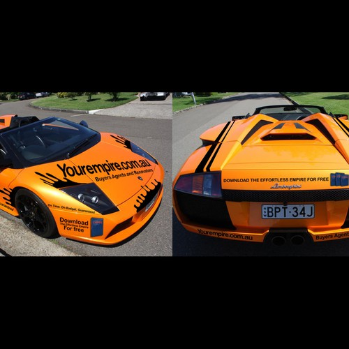 Lamborghini car for 'Your Empire' needs a new signage