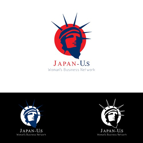 logo for a Japan / US Woman's Business Network