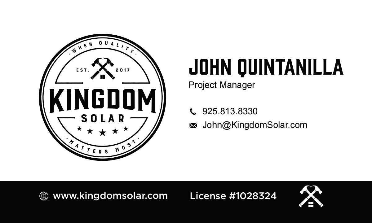 Business Card Revision