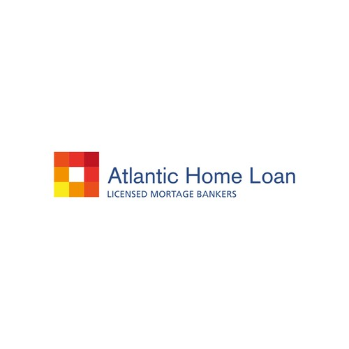 Atlantic Home Loan logo design