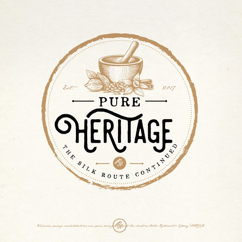 PURE HERITAGE LOGO PROPOSAL