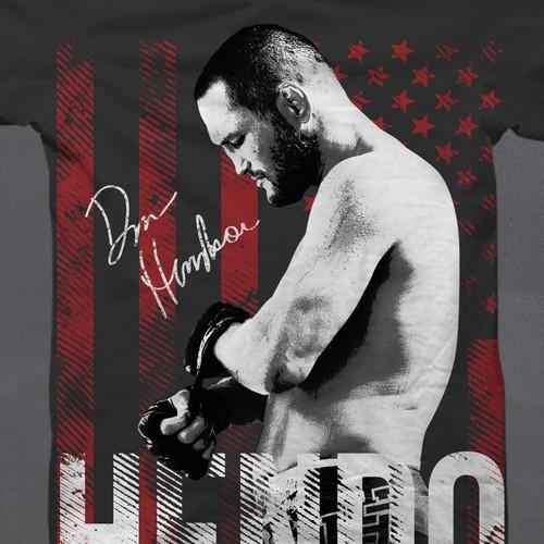Limited edition tshirt for online MMA training program