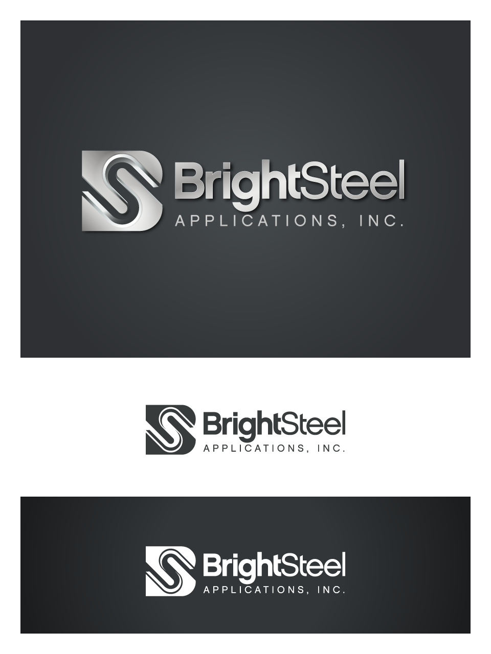 Create the next logo for BrightSteel Applications, Inc.