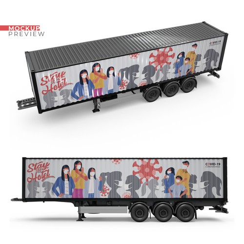 Mural for Shipping Container