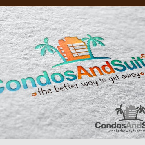Create the next logo for CondosAndSuites.com