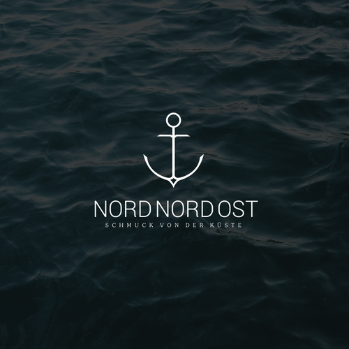 flat logo concept for nord nord ost