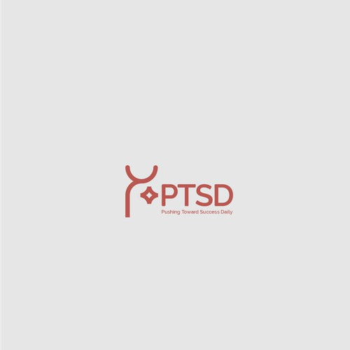 Bold logo for organization who improve the quality of life for individuals battling depression, anxiety, stress and/or PTSD.