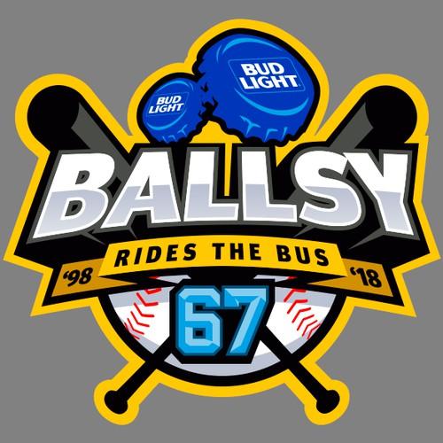 Ballsy Rides the bus