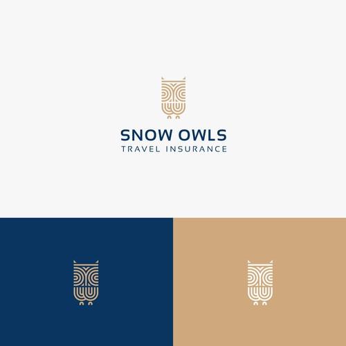 Concept logo Snow Owls