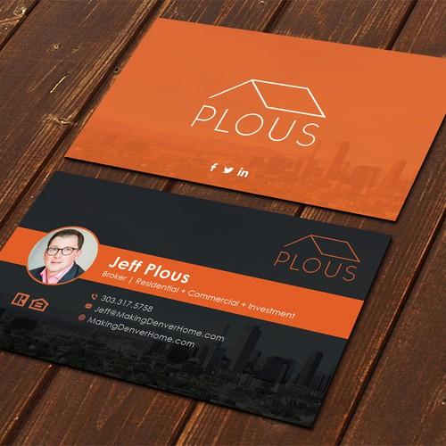 Plous Business Card