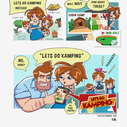 Comic for Lets Go Kamping