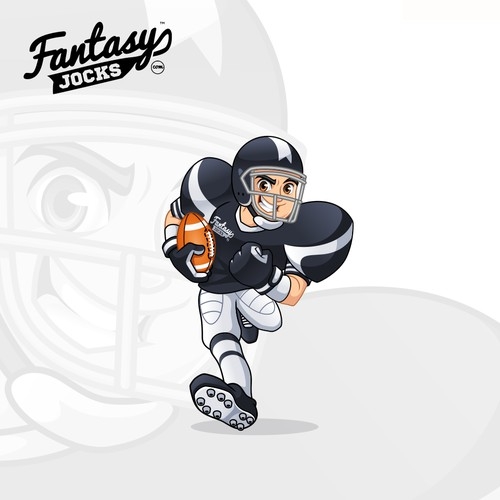 Mascot Design for Fantasy Jocks