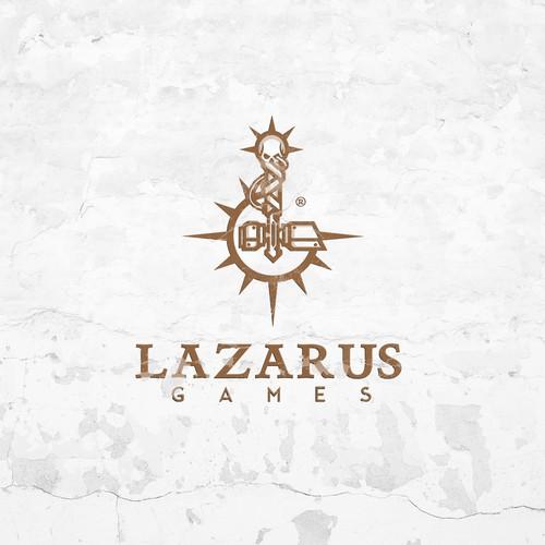 Logo concept for Lazarus Games