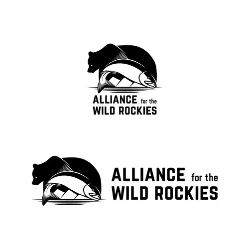 Logo Design for The Alliance For The Wild Rockies