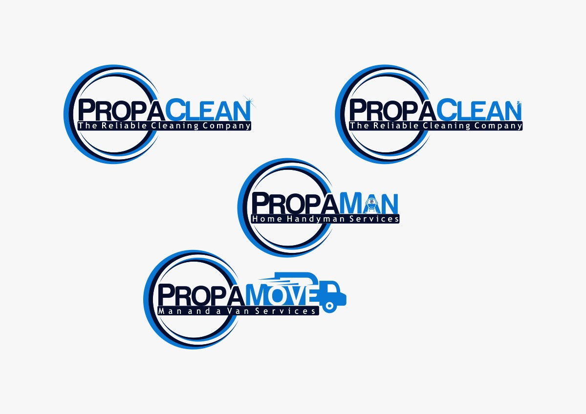 logo for PropaClean and other services