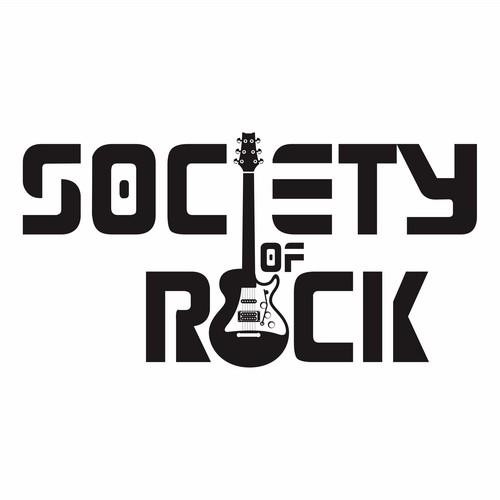 "winner logo of ""society of rock"""