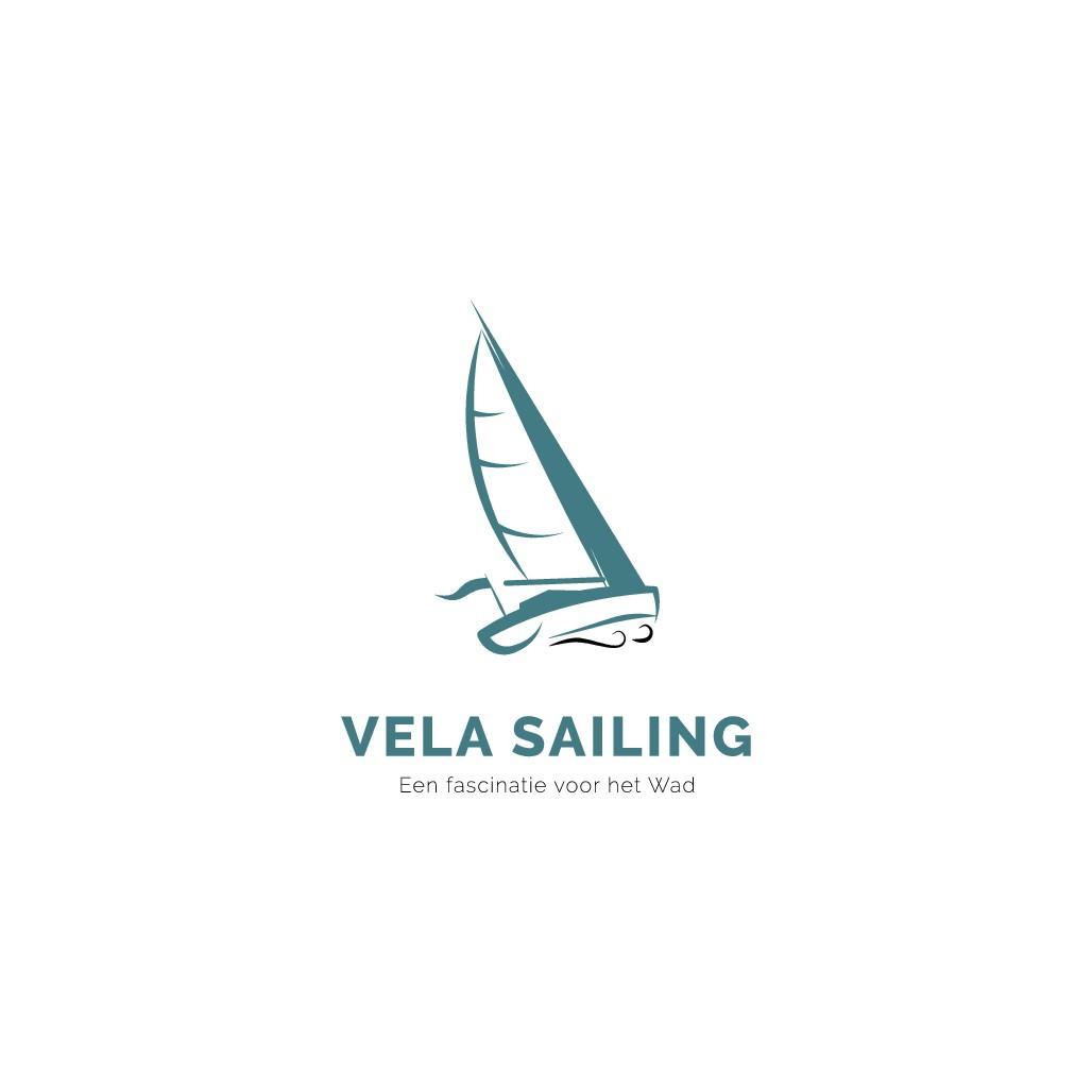 Vela Sailing wil een logo dat haar boodschap krachtig en helder overbrengt!