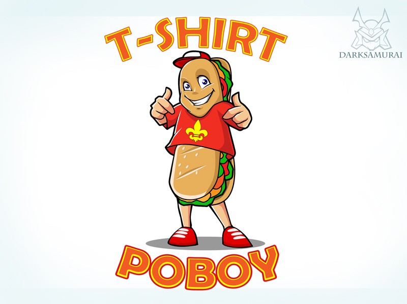 New logo wanted for The T-Shirt Poboy