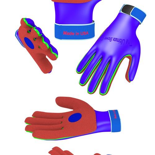 Shower Glove
