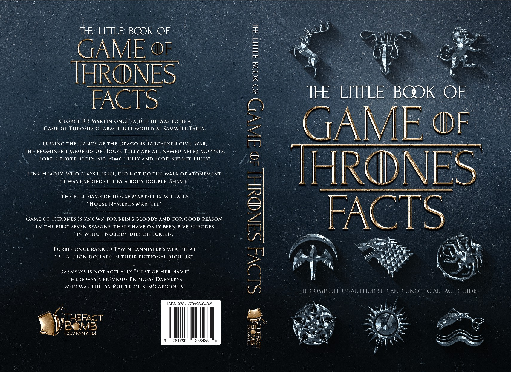 Game of Thrones Fact Book Cover