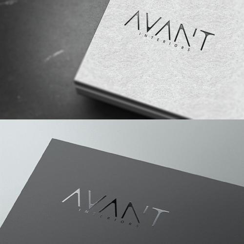 logo concept & website for Interior Design brand.