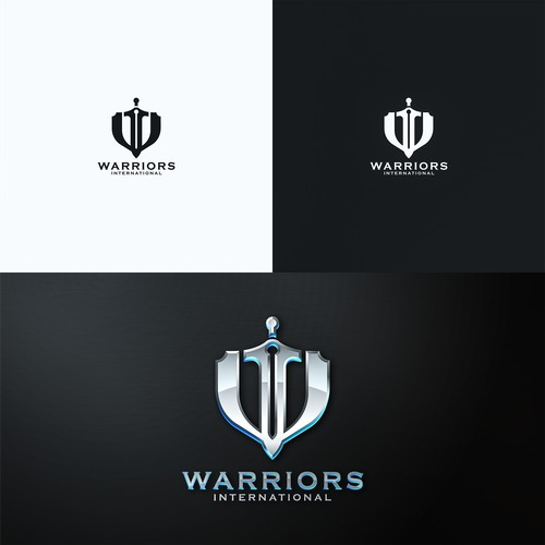 Bold Logo for Warriors International