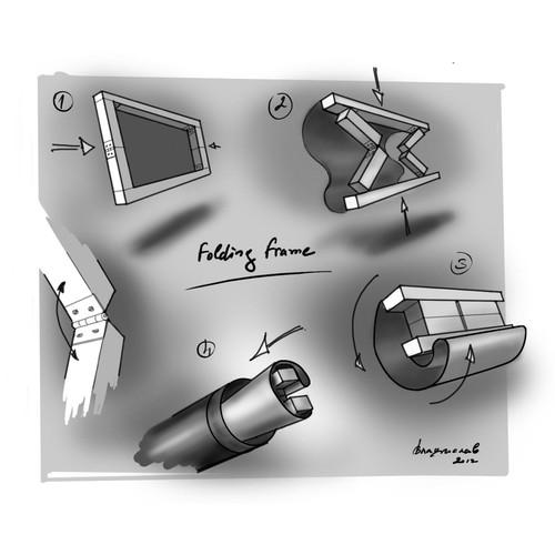 Folding frame