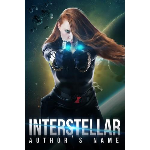 Book cover for Sci-Fi novel Home: Interstellar