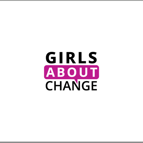 Create the next logo for Girls about Change