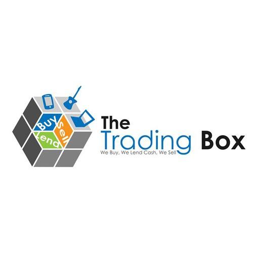 the trading box logo